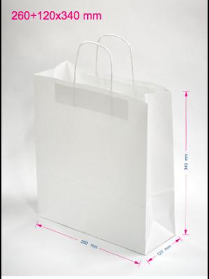 Papirnate vrečke 260 + 120 x 340