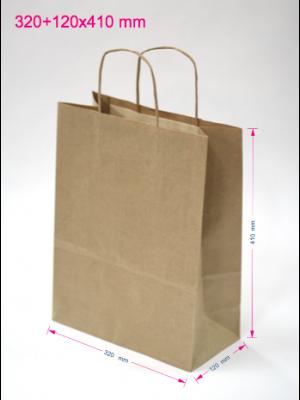 Papirnate vrečke 320 + 120 x 410